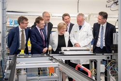 £22m battery and thermal energy facilities launch at the University of Warwick, for a cleaner greener future