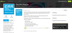 ERA launches Big Ideas podcasts